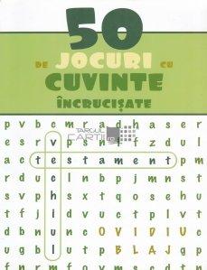 50 de jocuri cu cuvinte incrucisate
