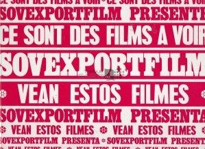 60 ans du cinema sovietique/60 anos de la cinematografia sovietica / 60 de ani de cinematografie sovietica