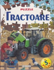 Carte puzzle - Tractoare