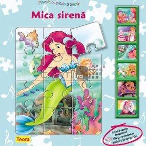 Mica sirena - Poveste cu puzzle si sunete