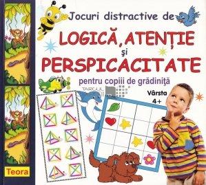 Jocuri distractive de logica, atentie si perspicacitate pentru copiii de gradinita