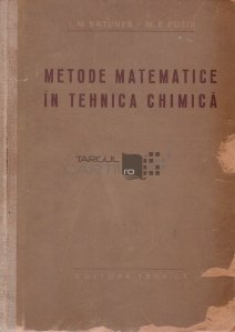 Metode matematice in tehnica chimica