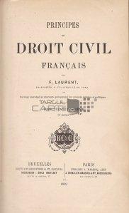 Principes de droit civil francais / Principii de drept civil francez