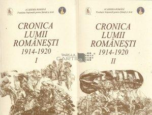 Cronica lumii romanesti 1914-1920