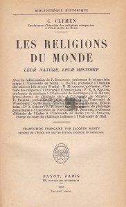 Les religions du monde / Religiile lumii;Originea si istoria lor