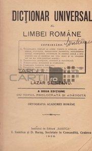 Dictionar universal al limbei romane