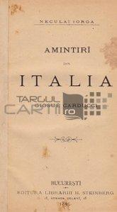 Amintiri din Italia