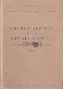 Studii si referate privind istoria Rominiei