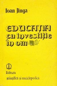Educatia ca investitie in om