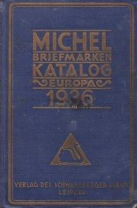 Michel Briefmarken Katalog Europa 1936 / Catalogul de timbre Michel europa 1936