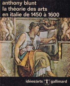 La theorie des arts en italie de 1450 a 1600