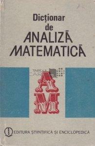 Dictionar de analiza matematica