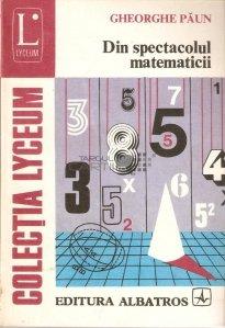 Din spectacolul matematicii