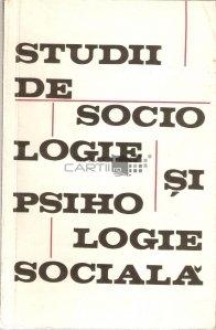 Studii de sociologie si psihologie sociala