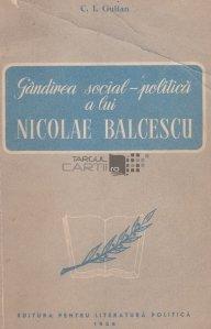 Gandirea social-politica a lui Nicolae Balcescu