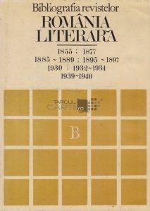 Bibliografia revistelor Romania literara