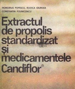 Extractul de propolis standardizat si medicamentele Candiflor
