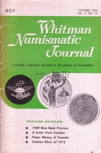 Whitman Numismatic Journal