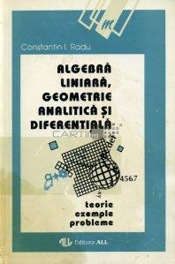 Algebra liniara, geometrie analitica si diferentiala