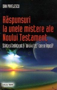 Raspunsuri la unele mistere ale Noului Testament