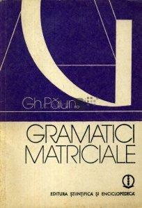 Gramatici matriciale