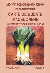Carte de bucate Macedonene