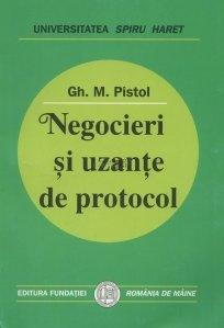 Negocieri si uzante de protocol