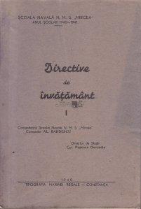 Directive de Invatamant