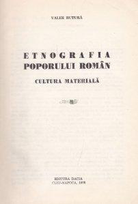 Etnografia poporului roman
