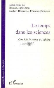 Le temps dans les sciences