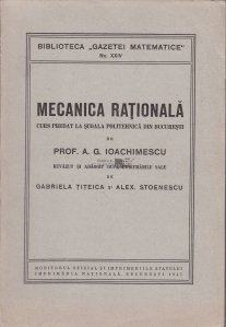 Mecanica rationala