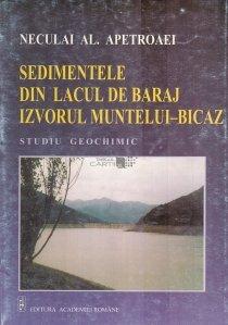 Sedimentele din lacul de baraj Izvorul Muntelui - Bicaz