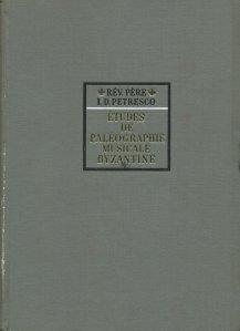 Etudes de paleographie musicale byzantine