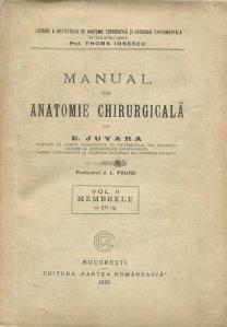Manual de anatomie chirurgicala