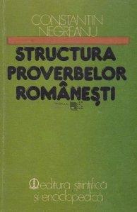 Structura proverbelor romanesti