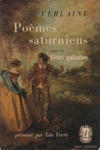 Poemes saturniens / Poezii Saturniene