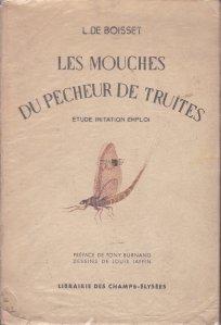Les mouches du pecheur de truites / Pastravul pescar de muste