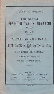 Publicatiunile Fondului Vasile Adamachi