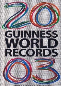 Guinness World Records 2003 / Cartea recordurilor 2003