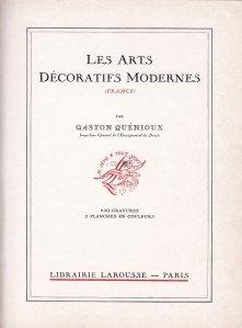 Les arts decoratifs modernes / Arta decorativa moderna
