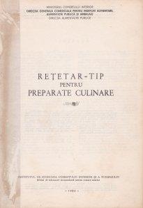 Retetar-tip pentru preparate culinare