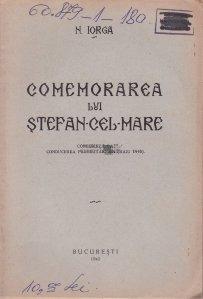 Comemorarea lui Stefan-cel-Mare