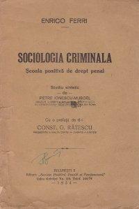 Sociologia criminala