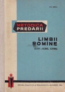 Metodica predarii limbii romine