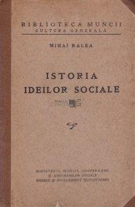 Istoria ideilor sociale