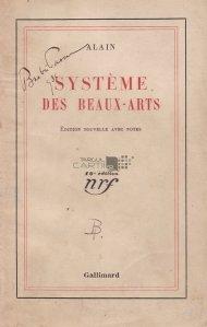 Systeme des beaux-arts / Sistemul artei