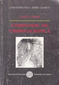 Compendiu de criminalistica