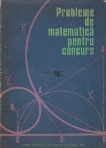 Probleme de matematica pentru concurs