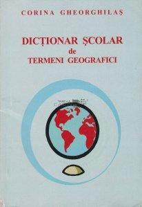 Dictionar scolar de termeni geografici