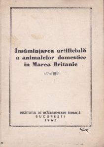 Insamintarea artificiala a  animalelor domestice in Marea Britanie